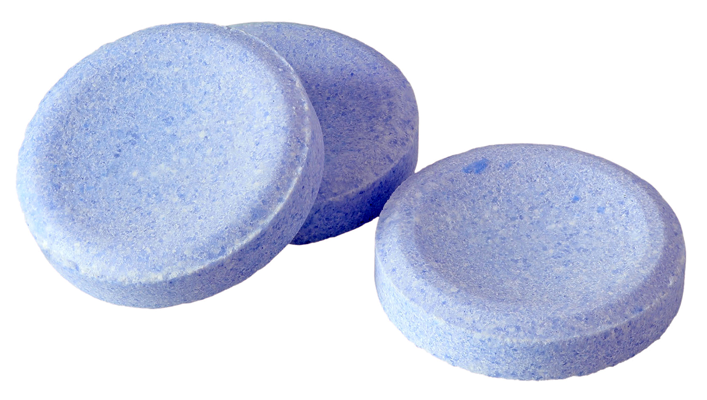 blue denture tablets