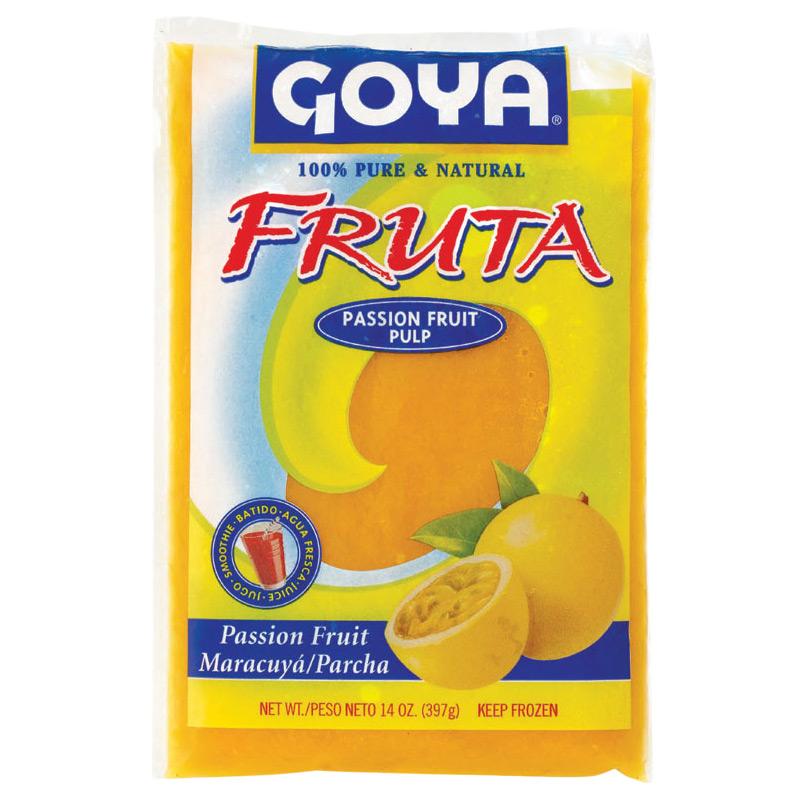 goya fruta passion fruit pulp