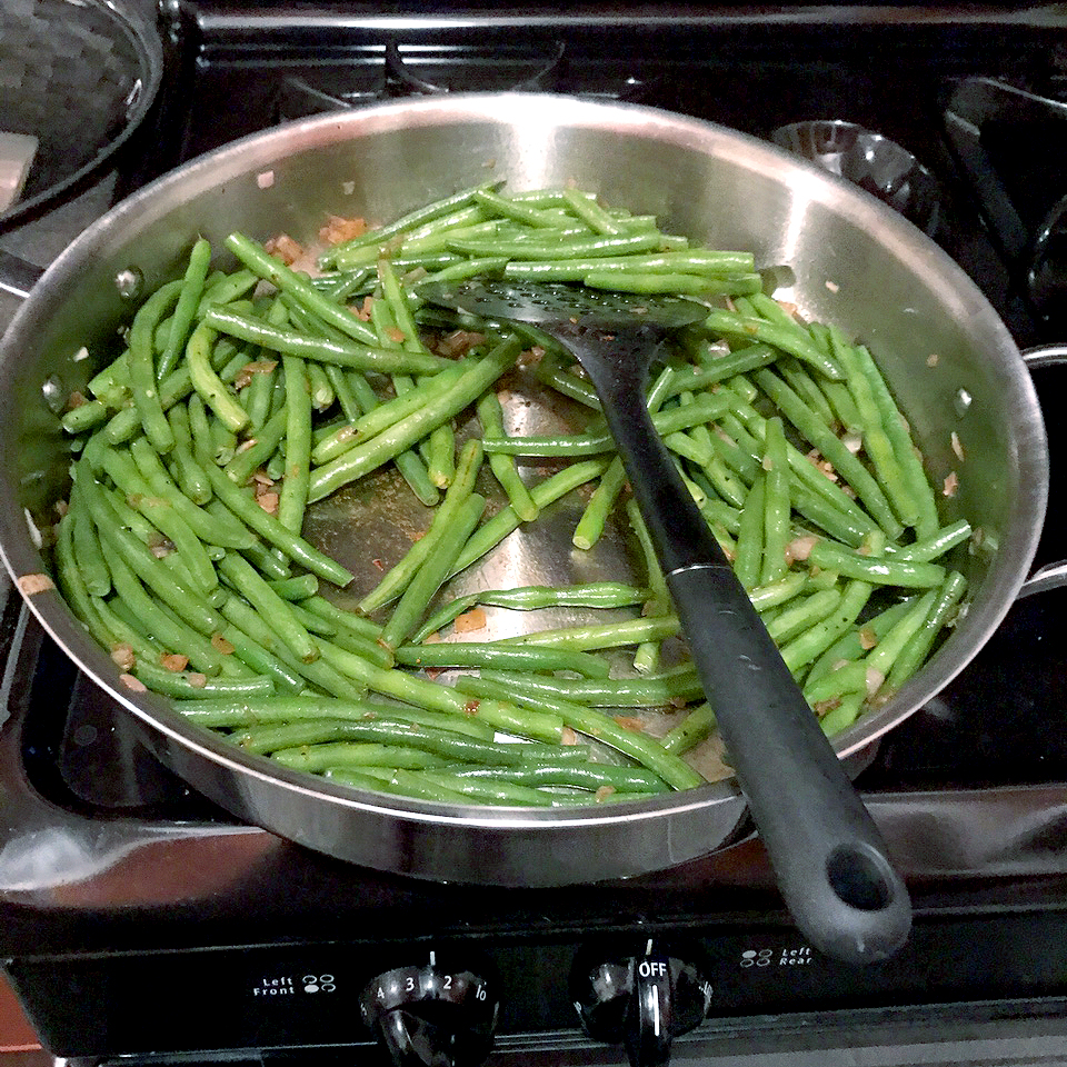 misty copeland cooking green beans