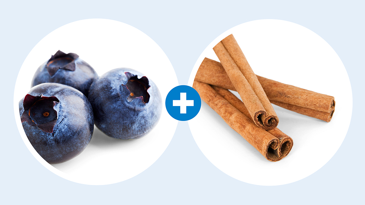 blueberry and cinnamon simple syrup