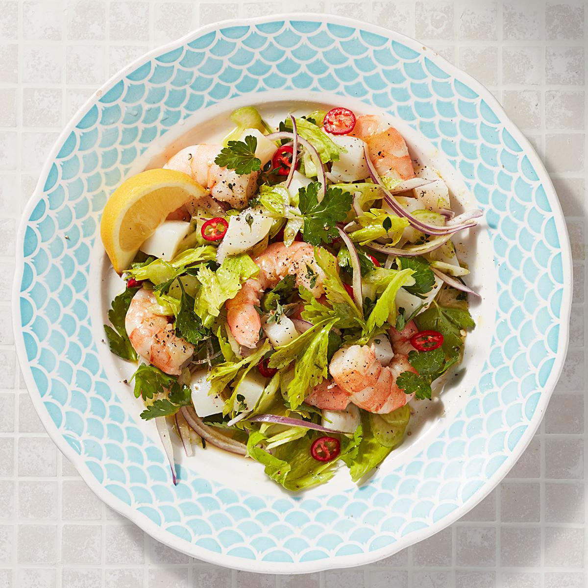 Capri-Style Seafood Salad