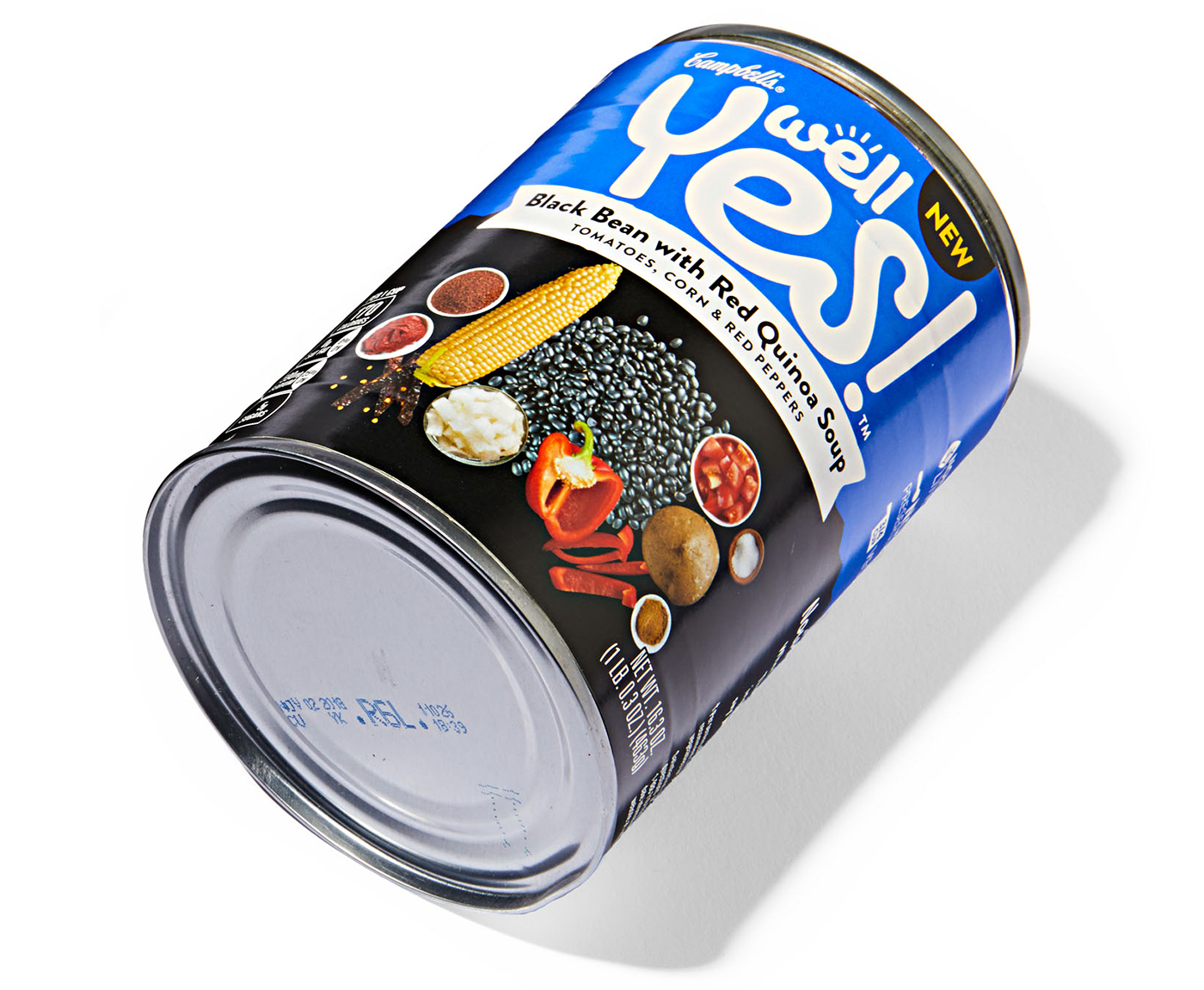 Campbell's Well Yes! Black Bean with Red Quinoa Soup