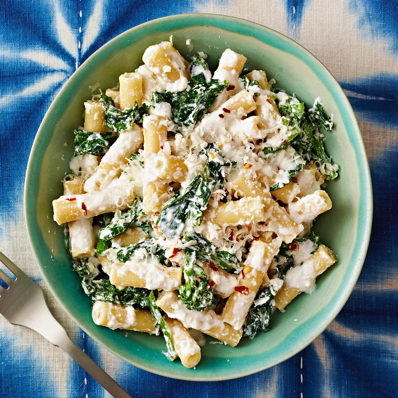 Cheesy Ziti with Broccoli Rabe