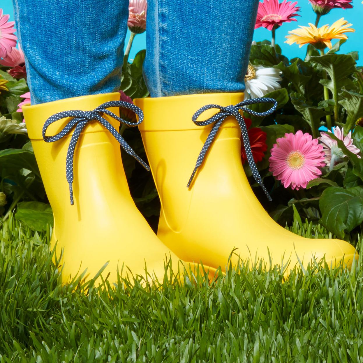 freesail shorty rain boots