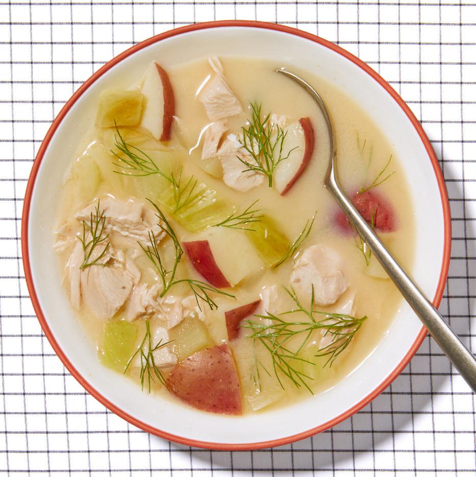 Greek-Style Chicken Soup