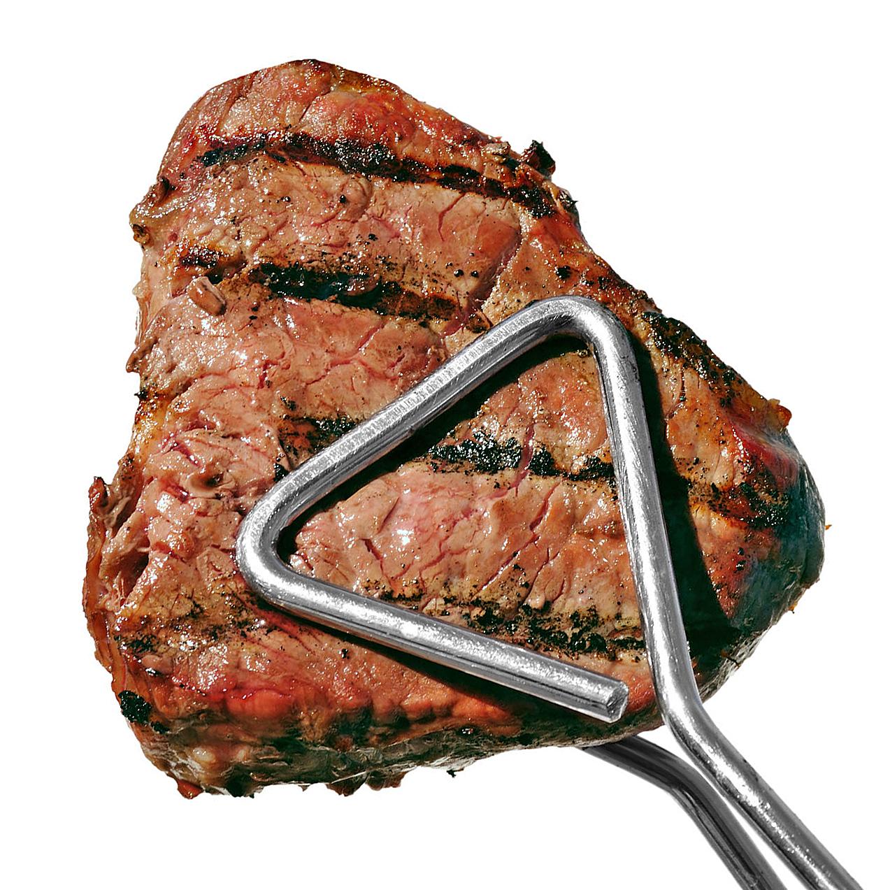 grilled steak tongs