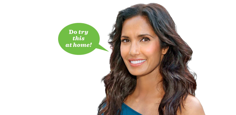 padma lakshmi try this at home