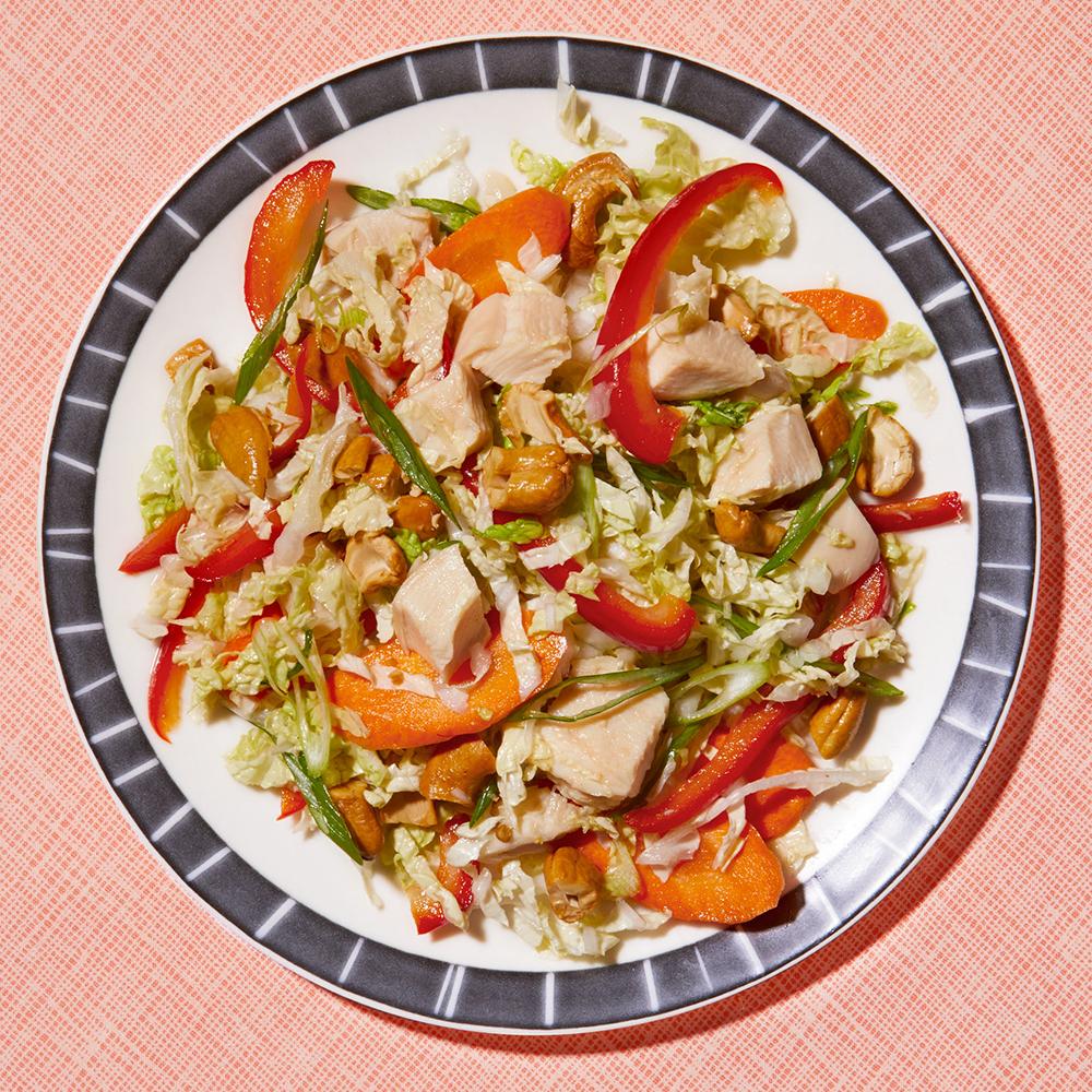 Pickled-Veggie Chicken Salad