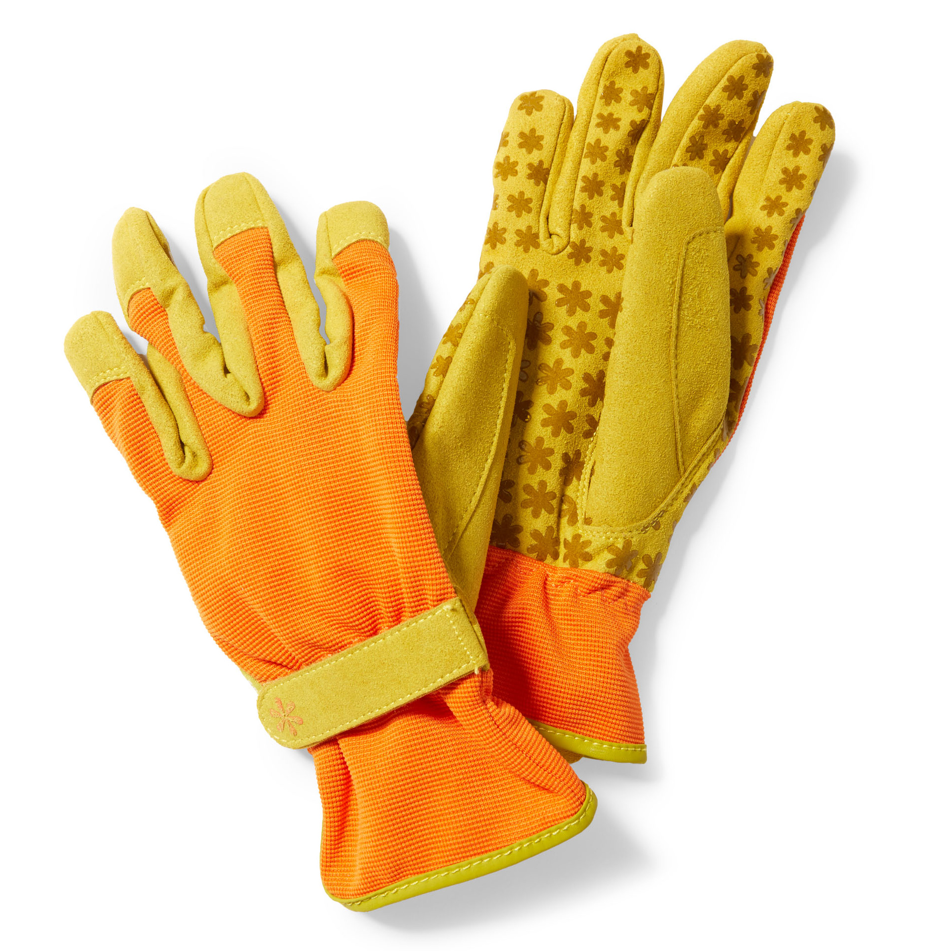 synthetic leather utility garden gloves