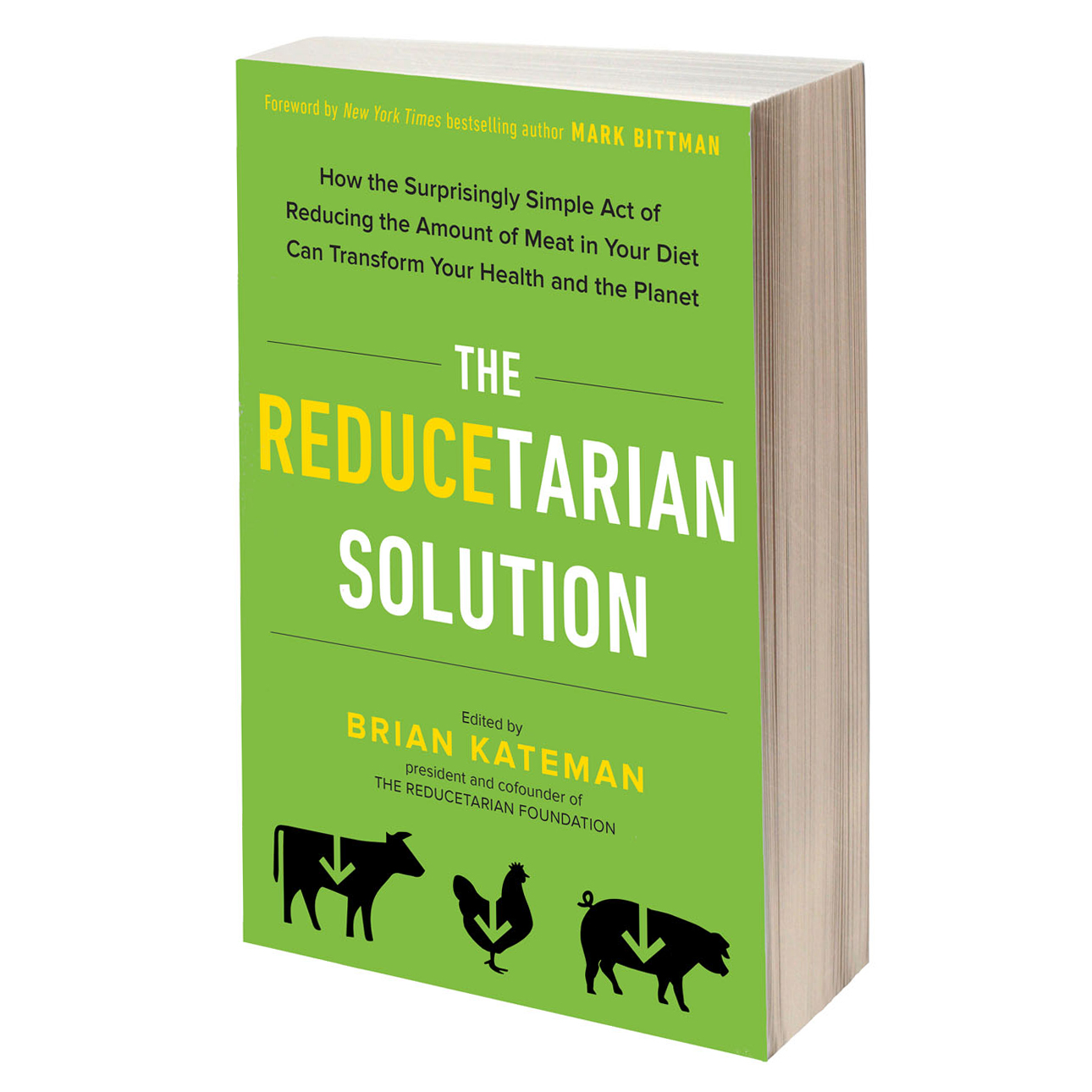 the reducetarian solution book brian kateman