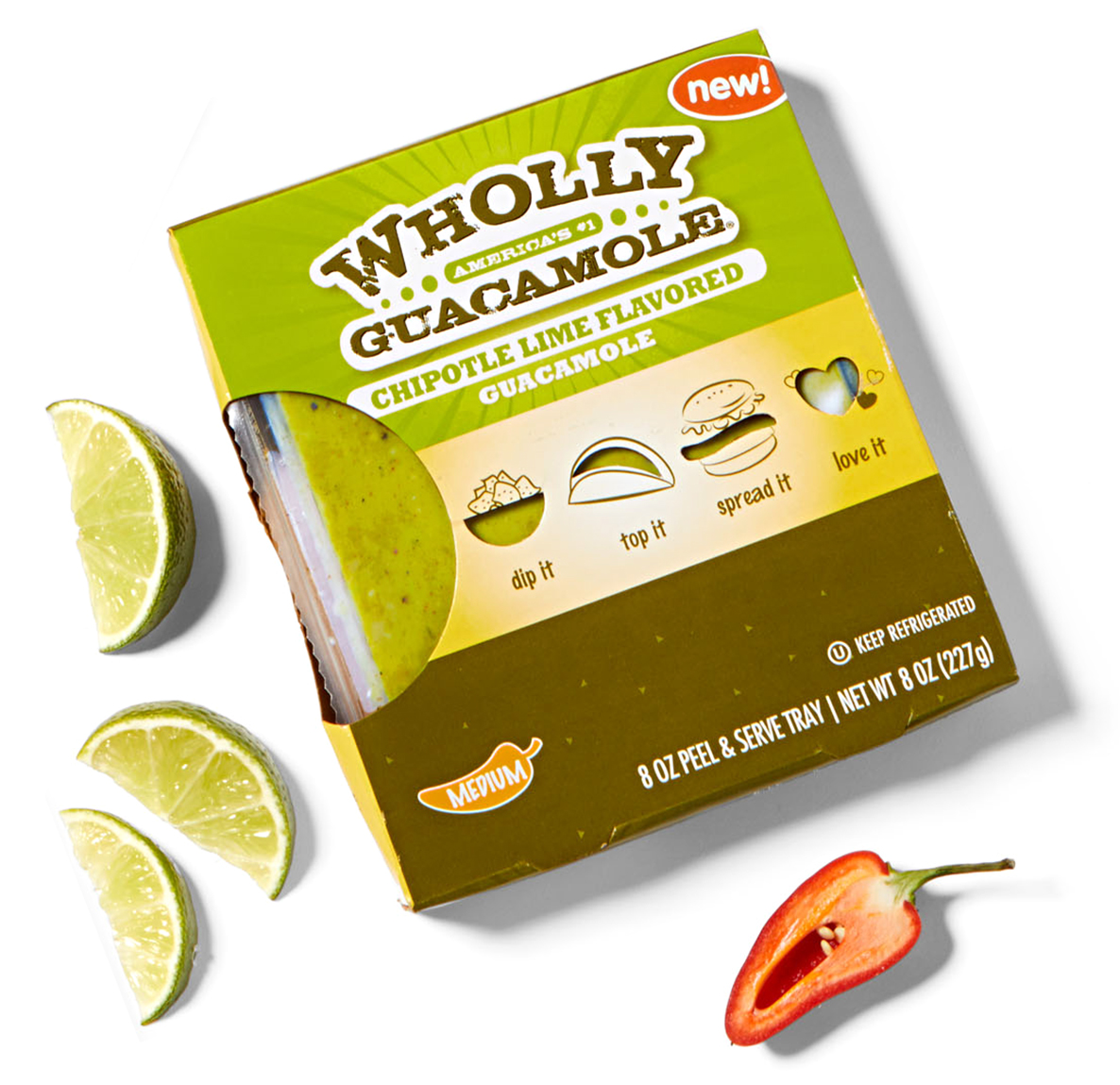 Wholly Guacamole Chipotle Lime