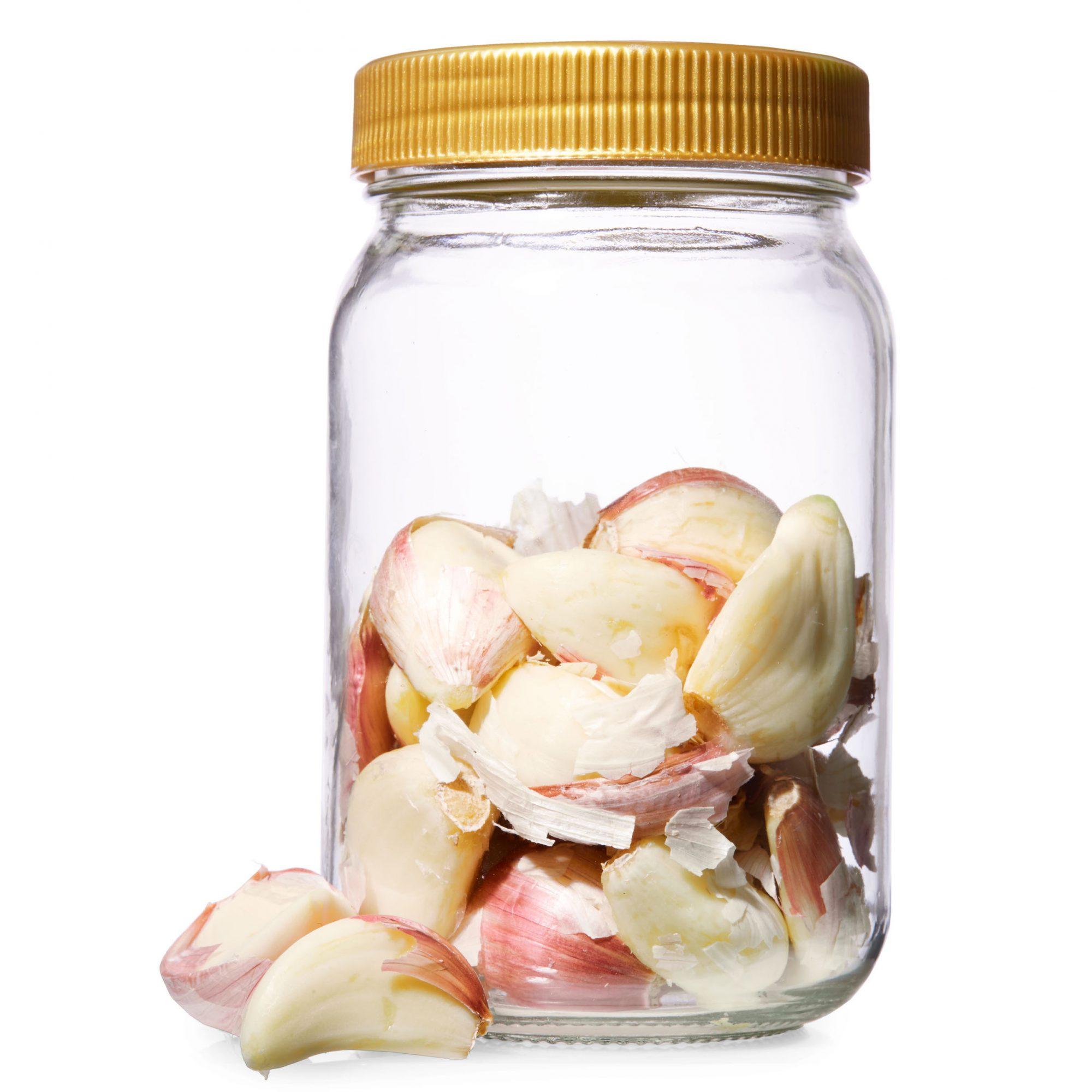 Your New Favorite Garlic Peeling Trick