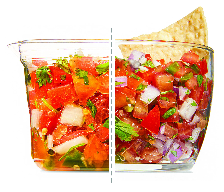 store-bought vs homemade salsa