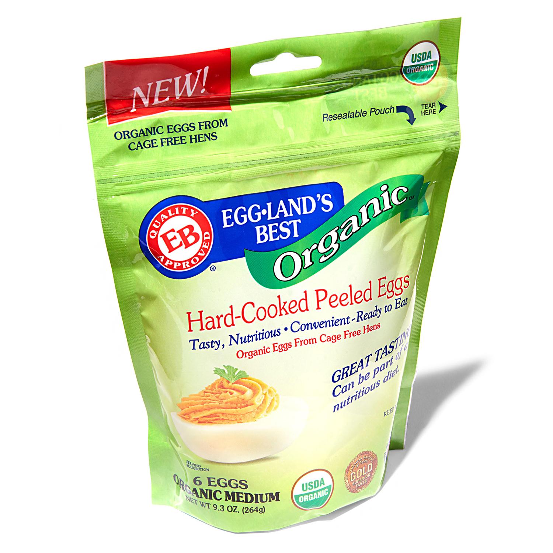 eggland's best organic hard-cooked eggs