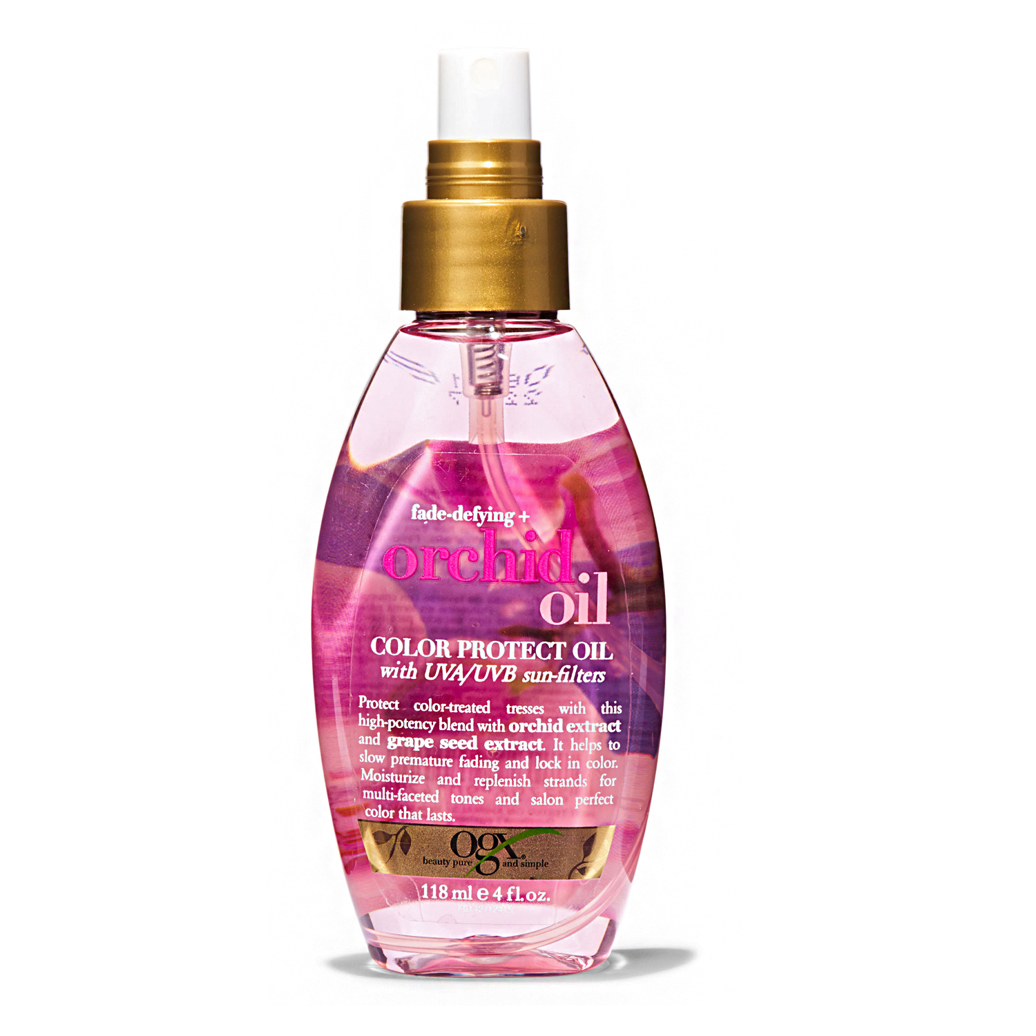 ogx fade-defying color protect orchid oil