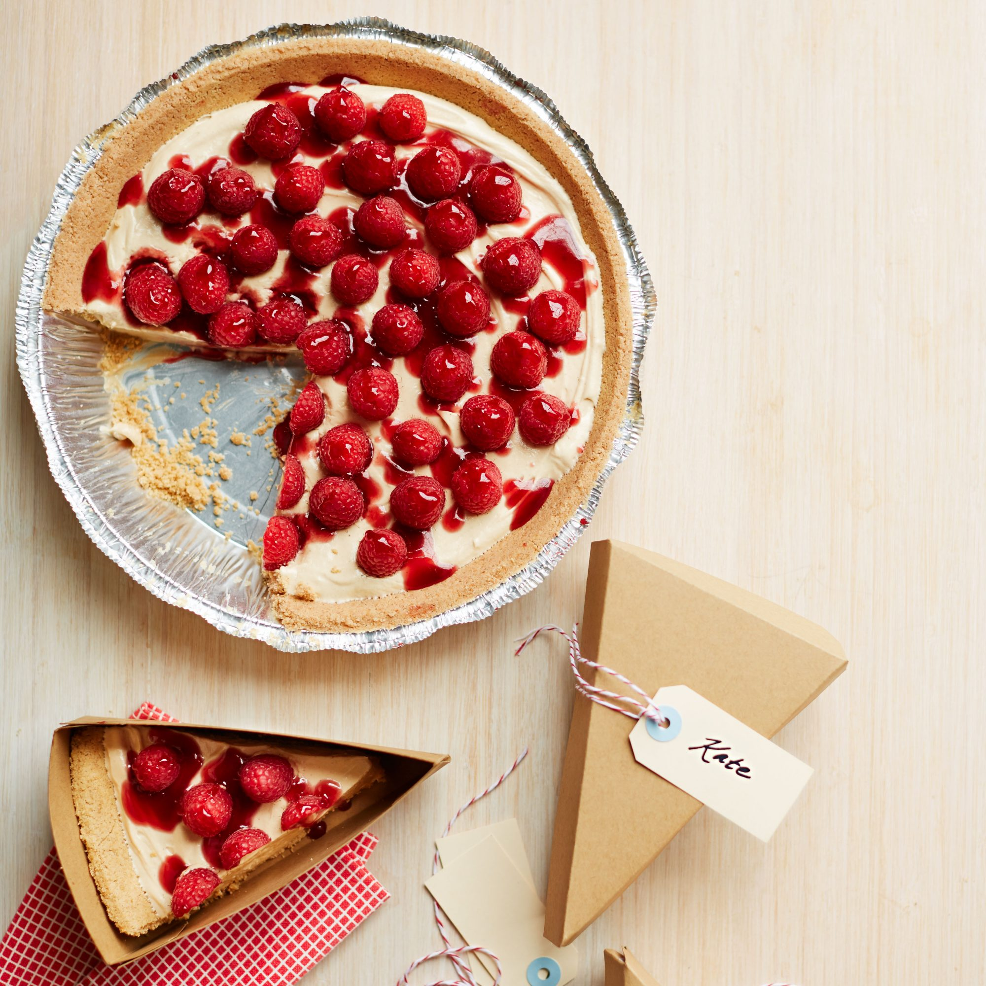 PB & Berry Pie