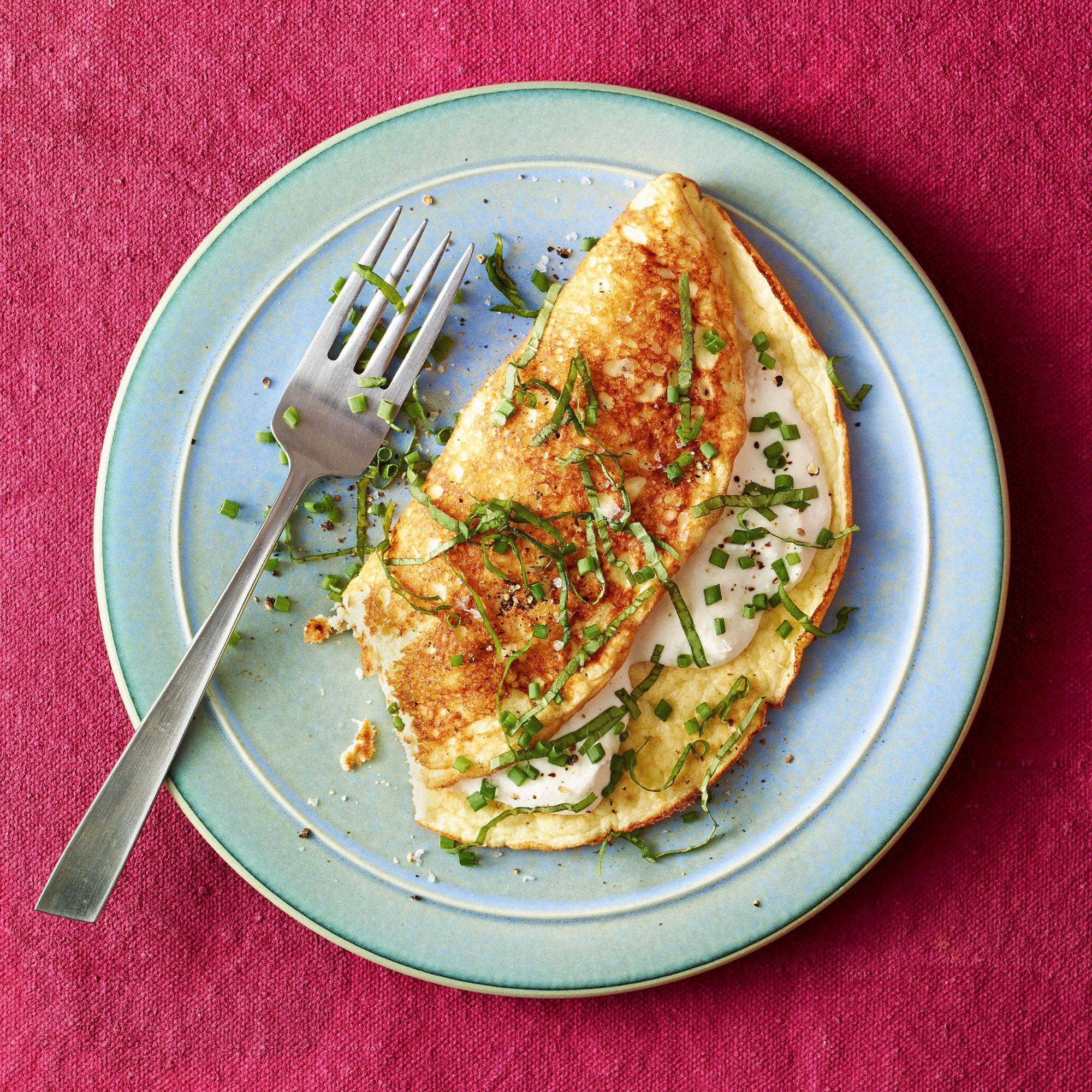 ricotta omelet soufflé