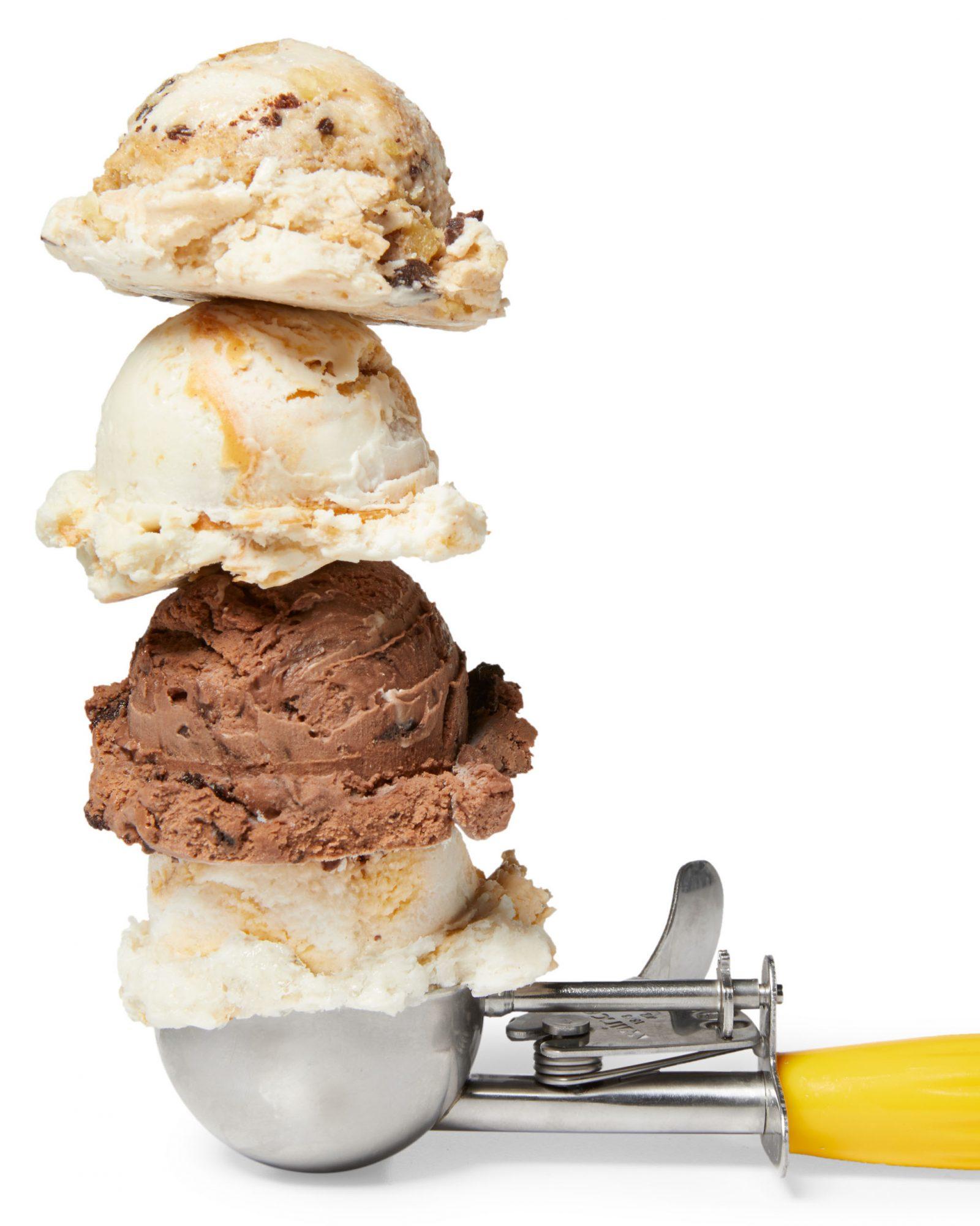 non-dairy ice cream scoops