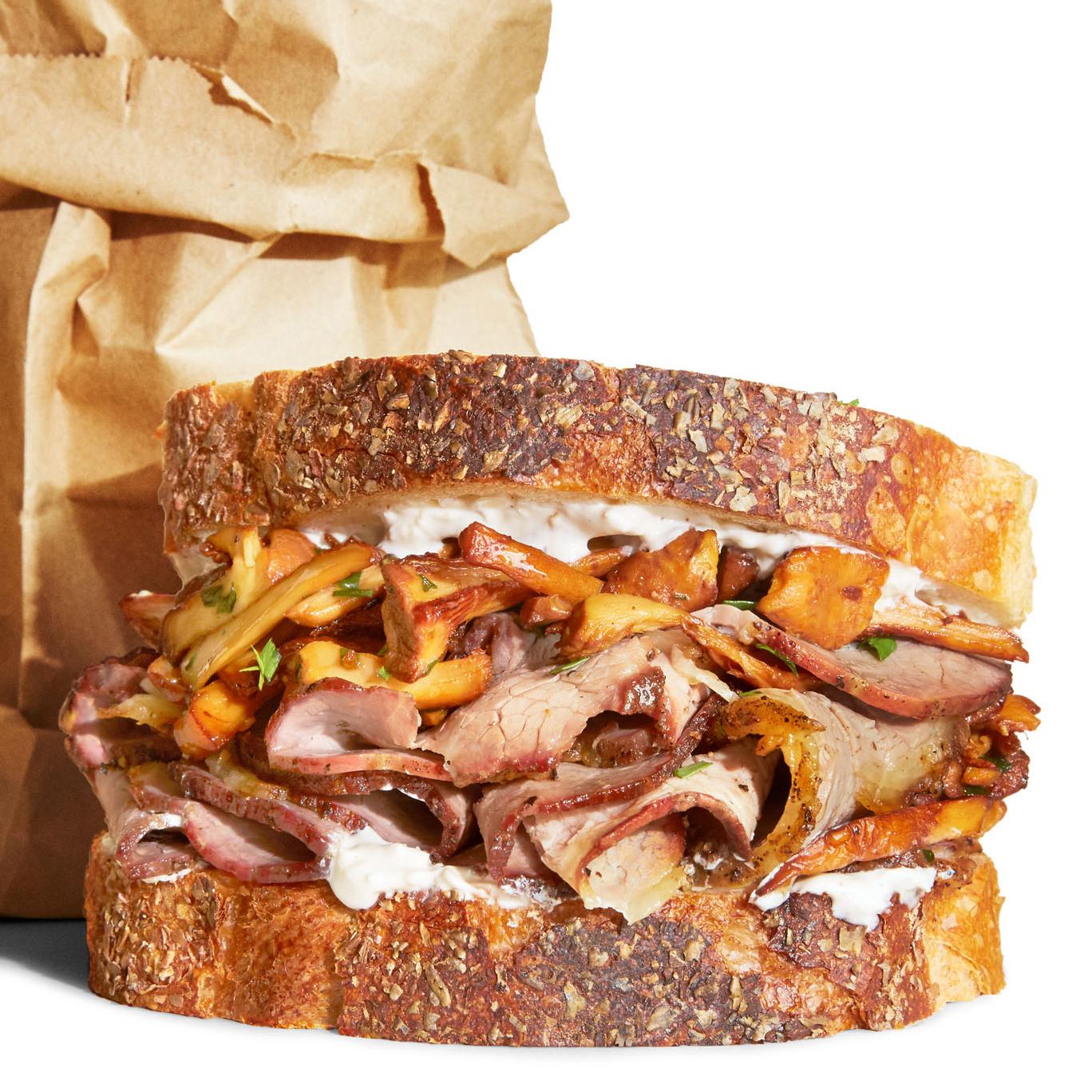 DIY Roast Beef Sandwich