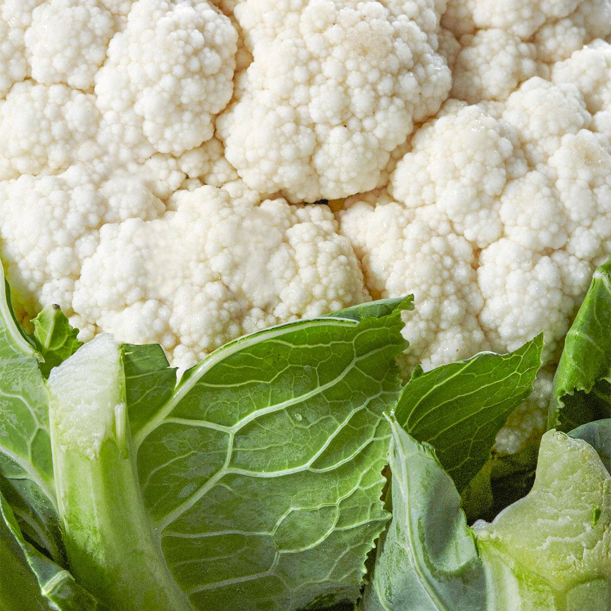 cauliflower close up