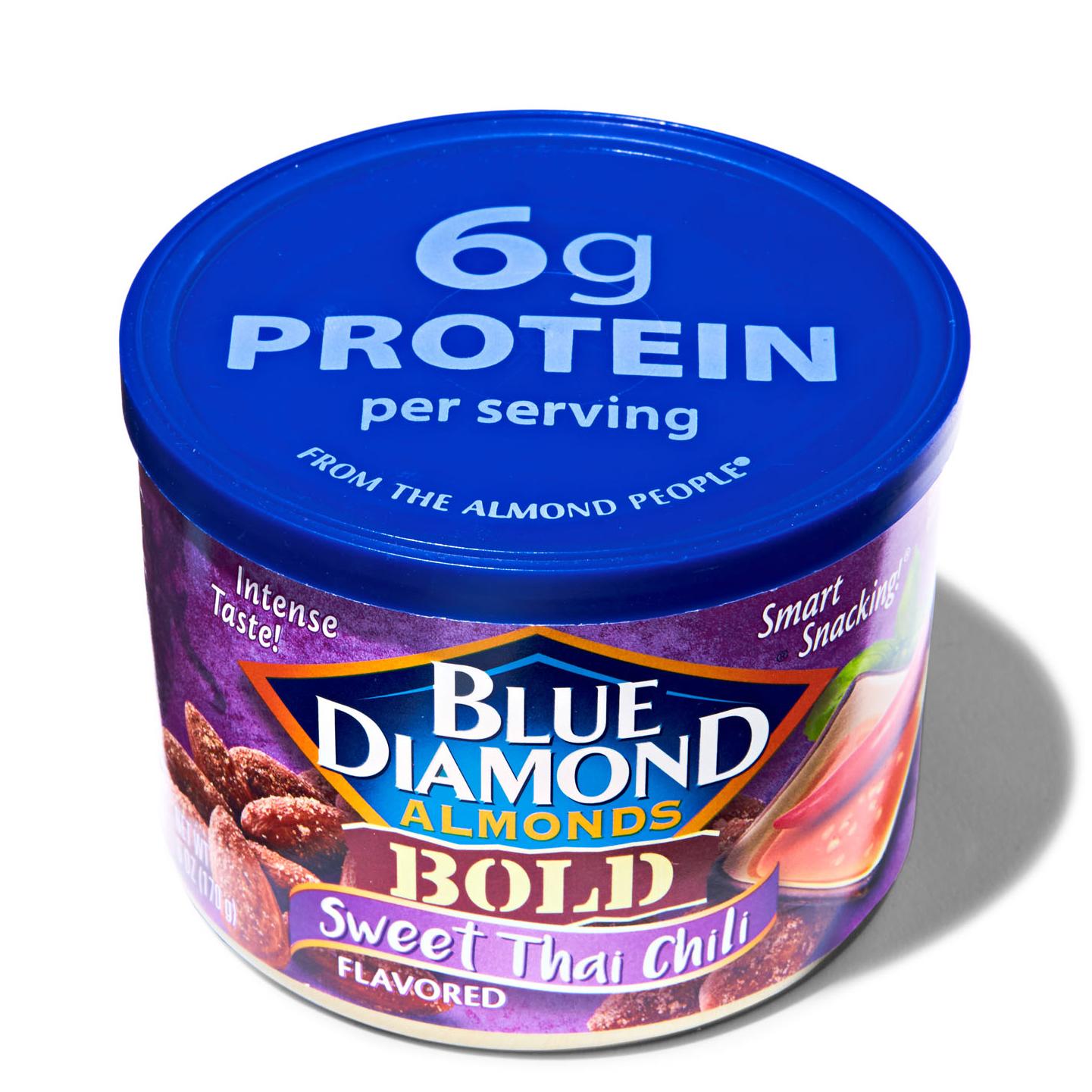 blue diamod almonds