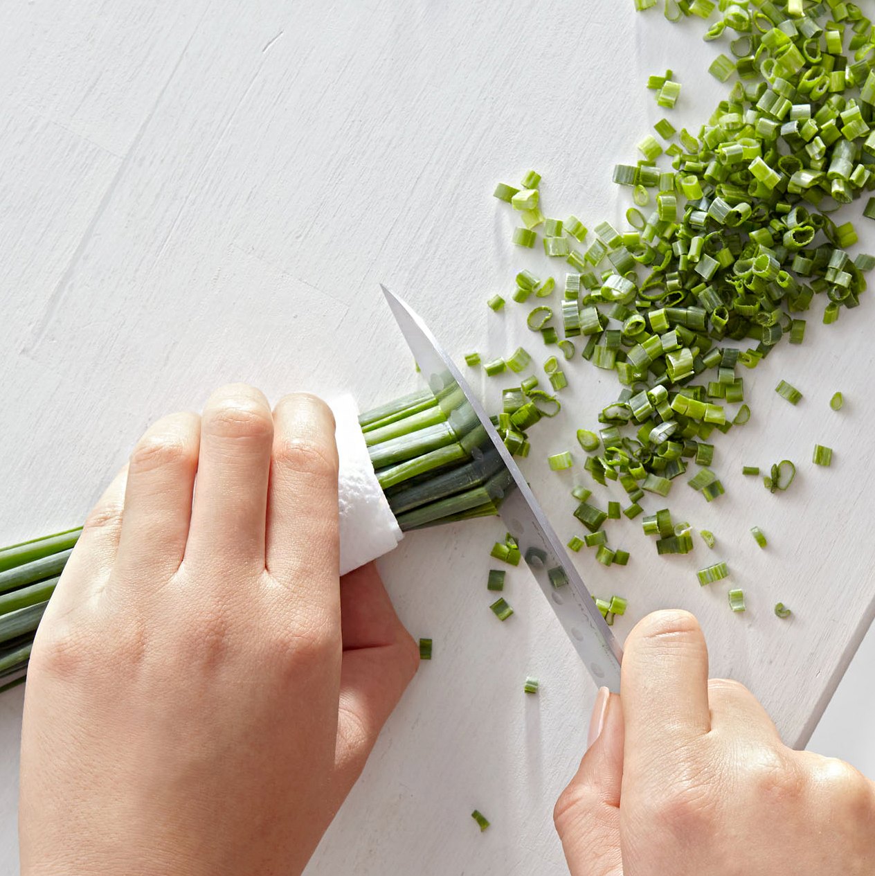 tip for chopping chives