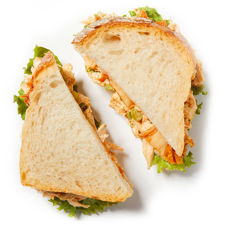 kimchi chicken sandwich
