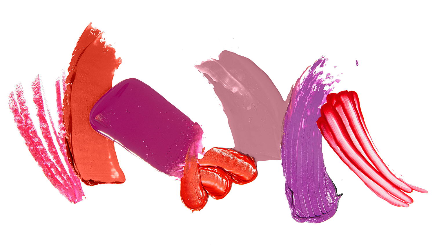 Lip color product smears