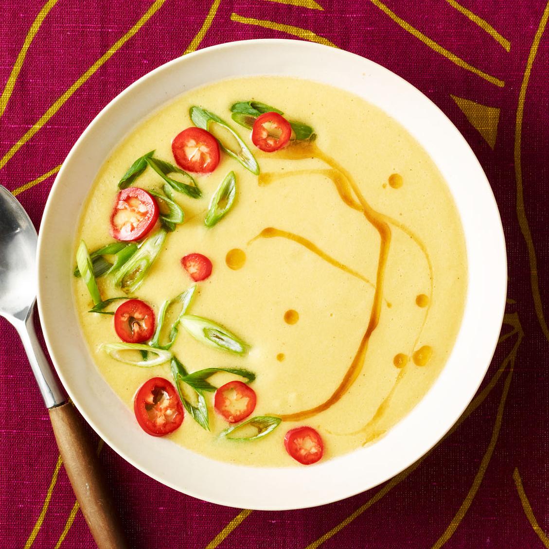 Miso Corn Soup