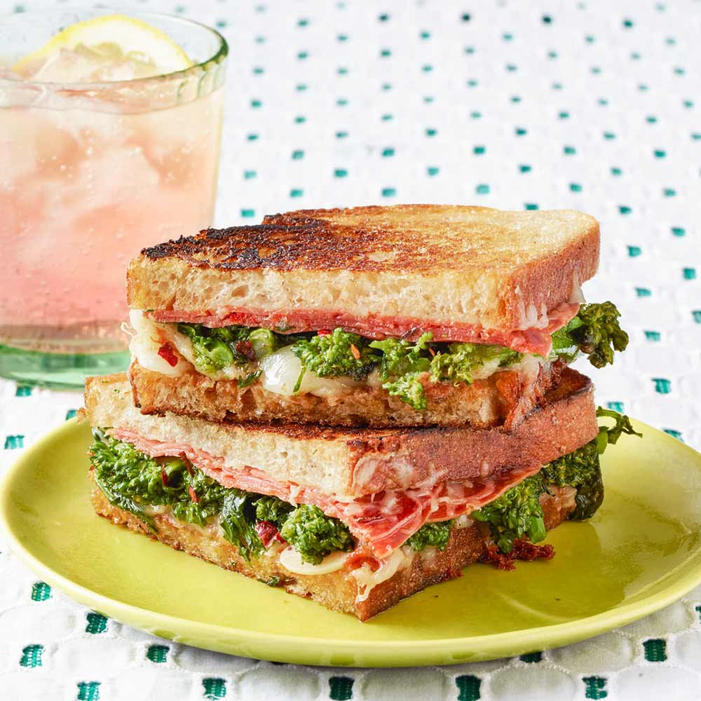 Spicy Italian Grilled Cheese