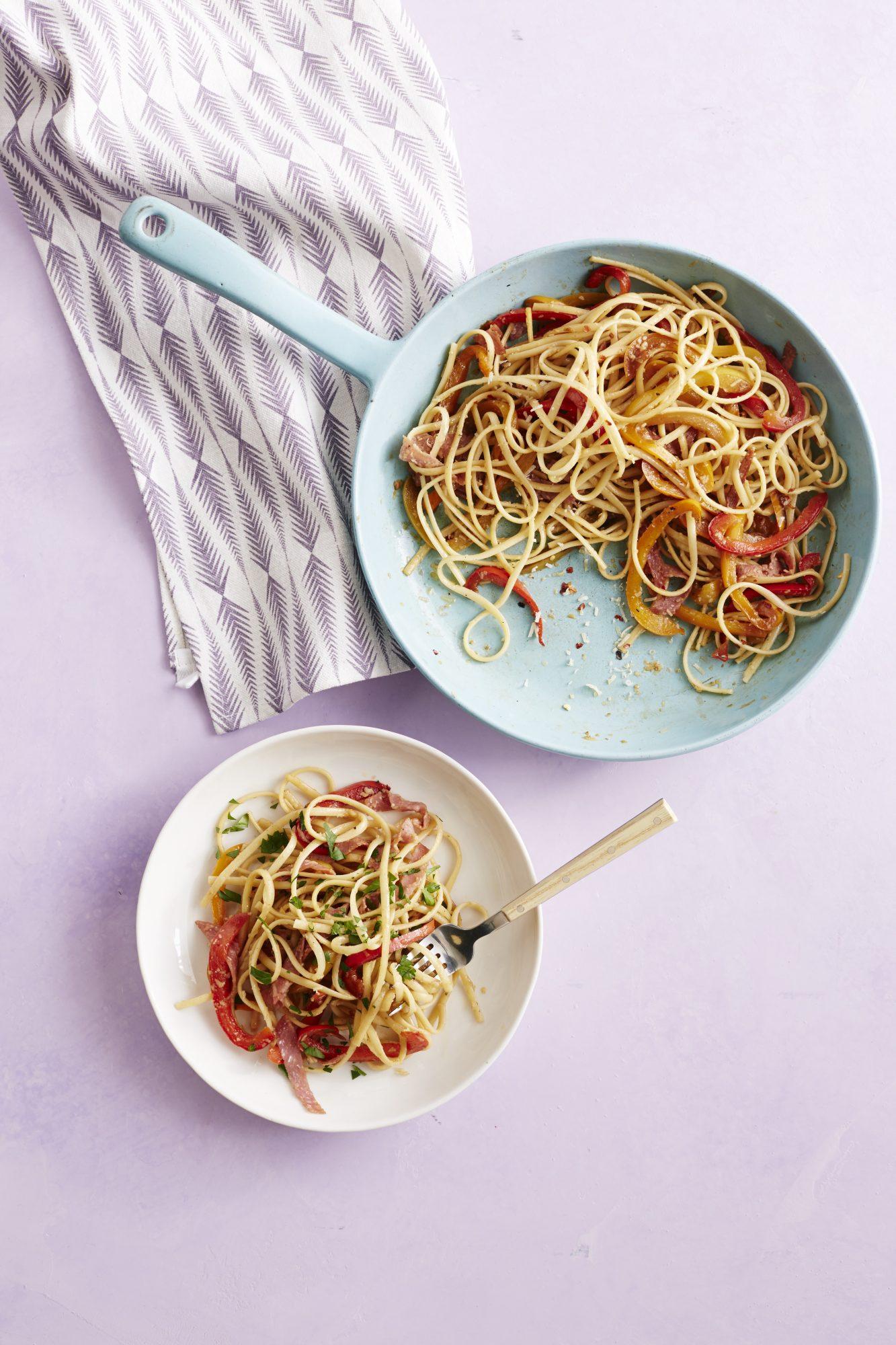 Triple-Pepper Pasta