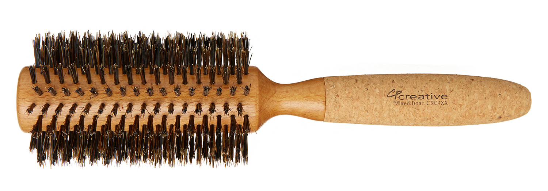 creative professional cork and birch wood roller brush