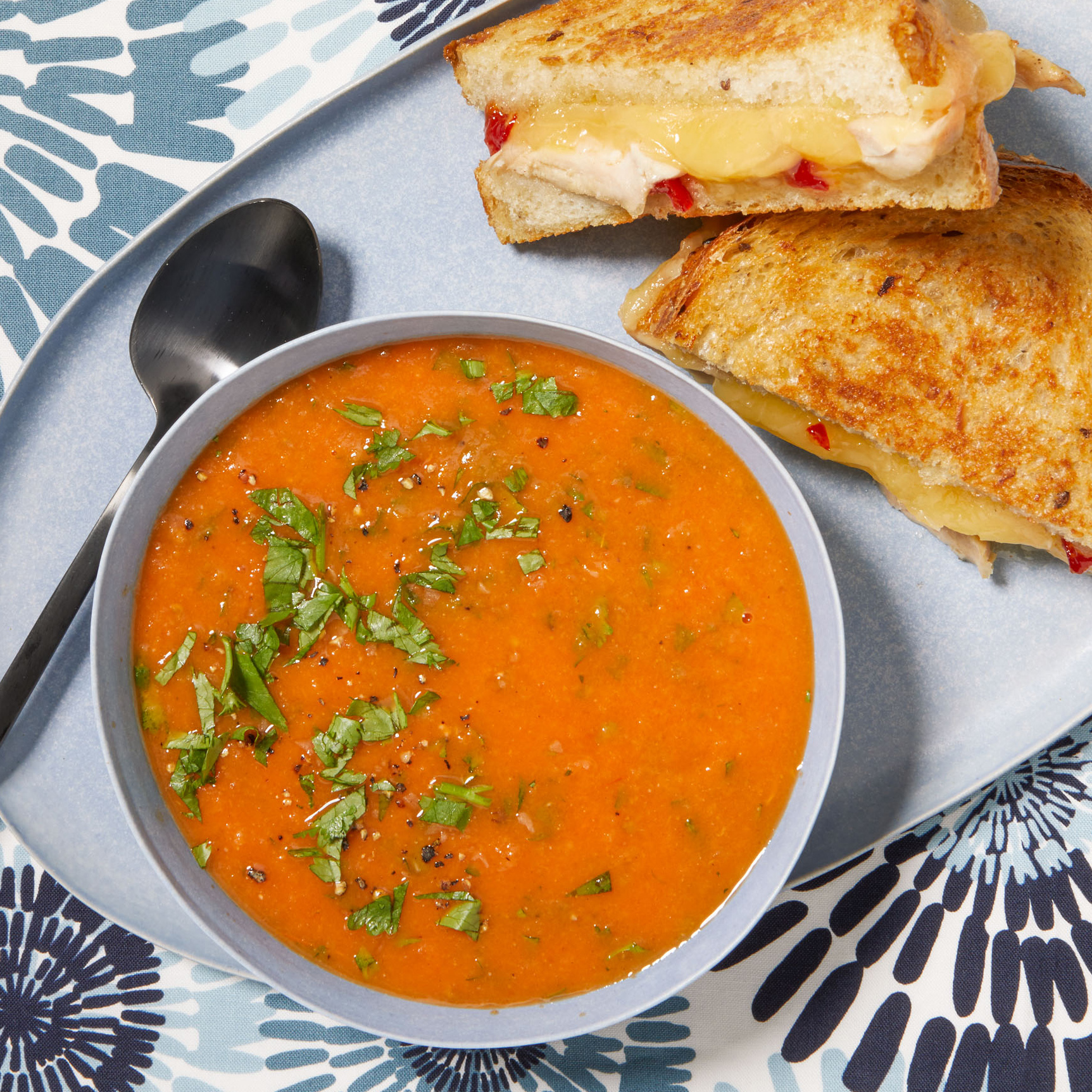 indian grilled cheese tomato soup