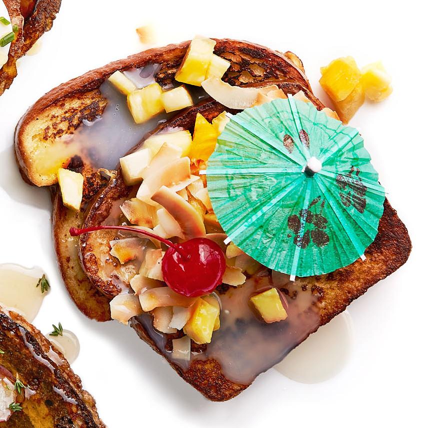pina colada french toast