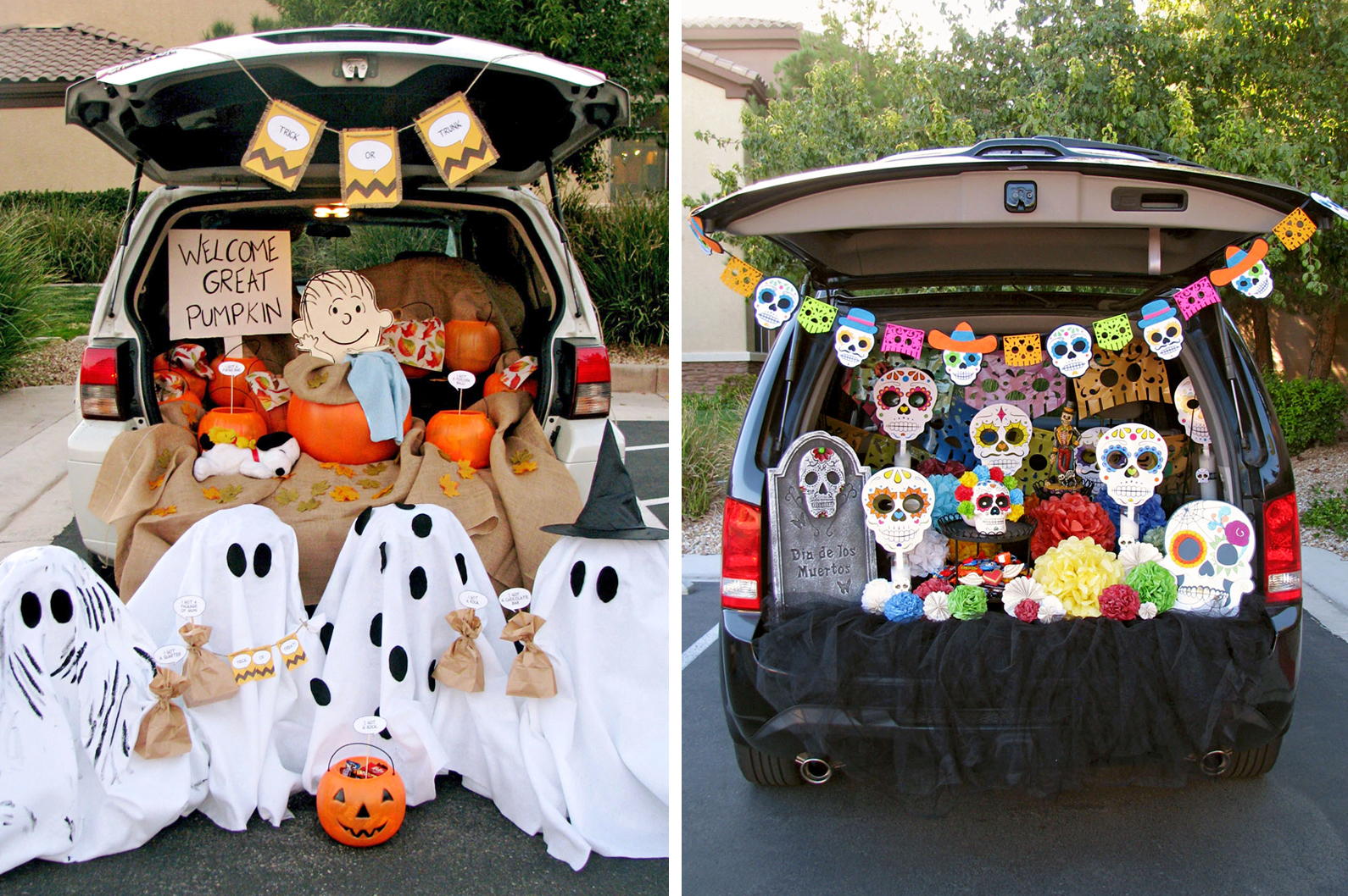 trunk-or-treat themes
