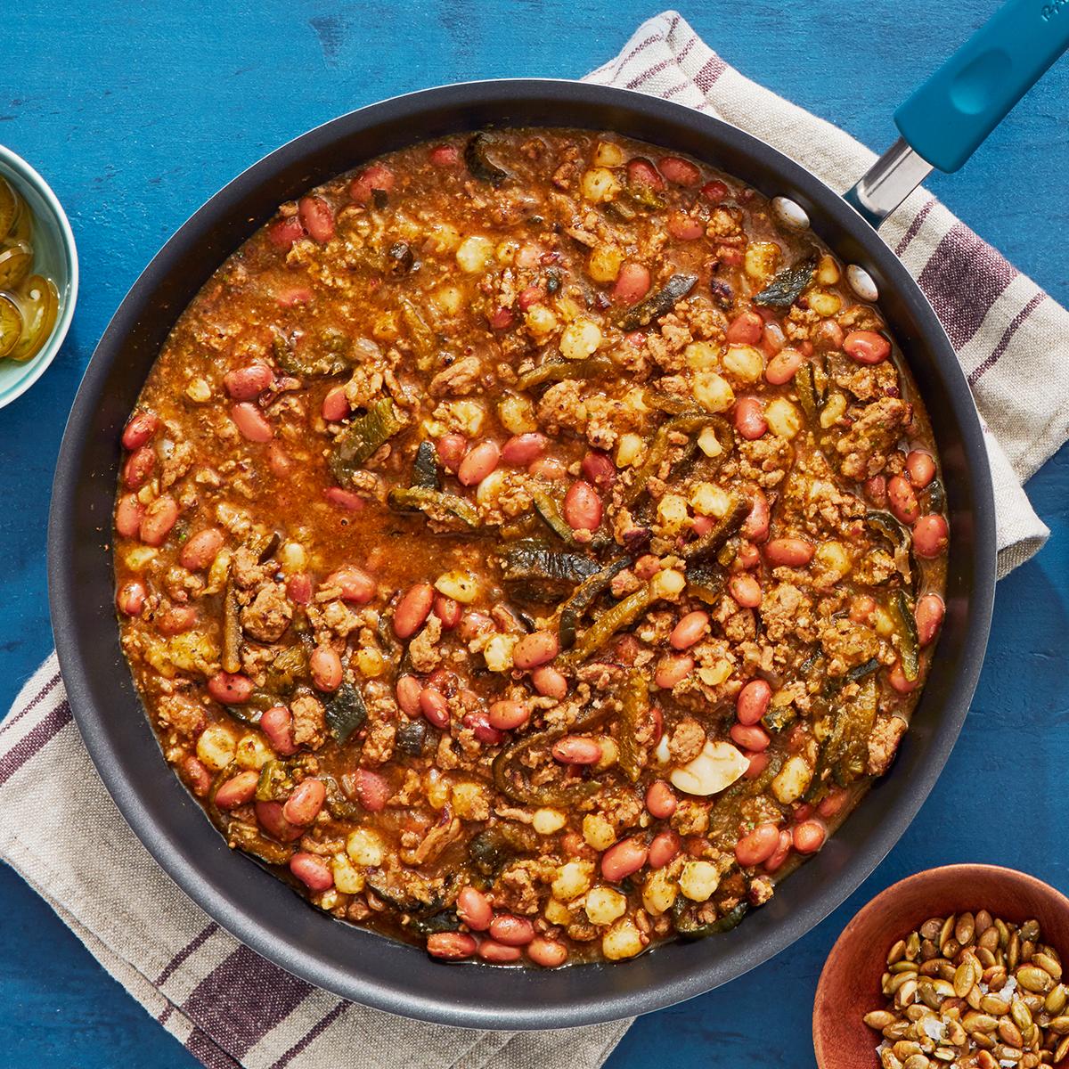 turkey roast poblano chili