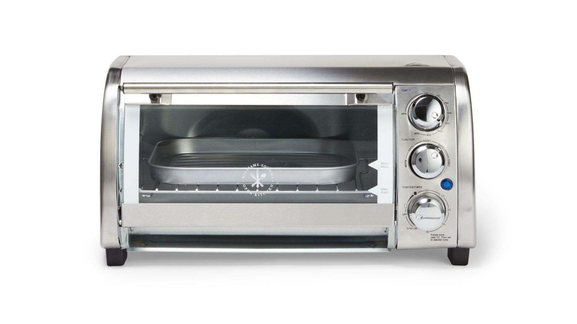 williams sonoma open kitchen stainless steel toaster oven