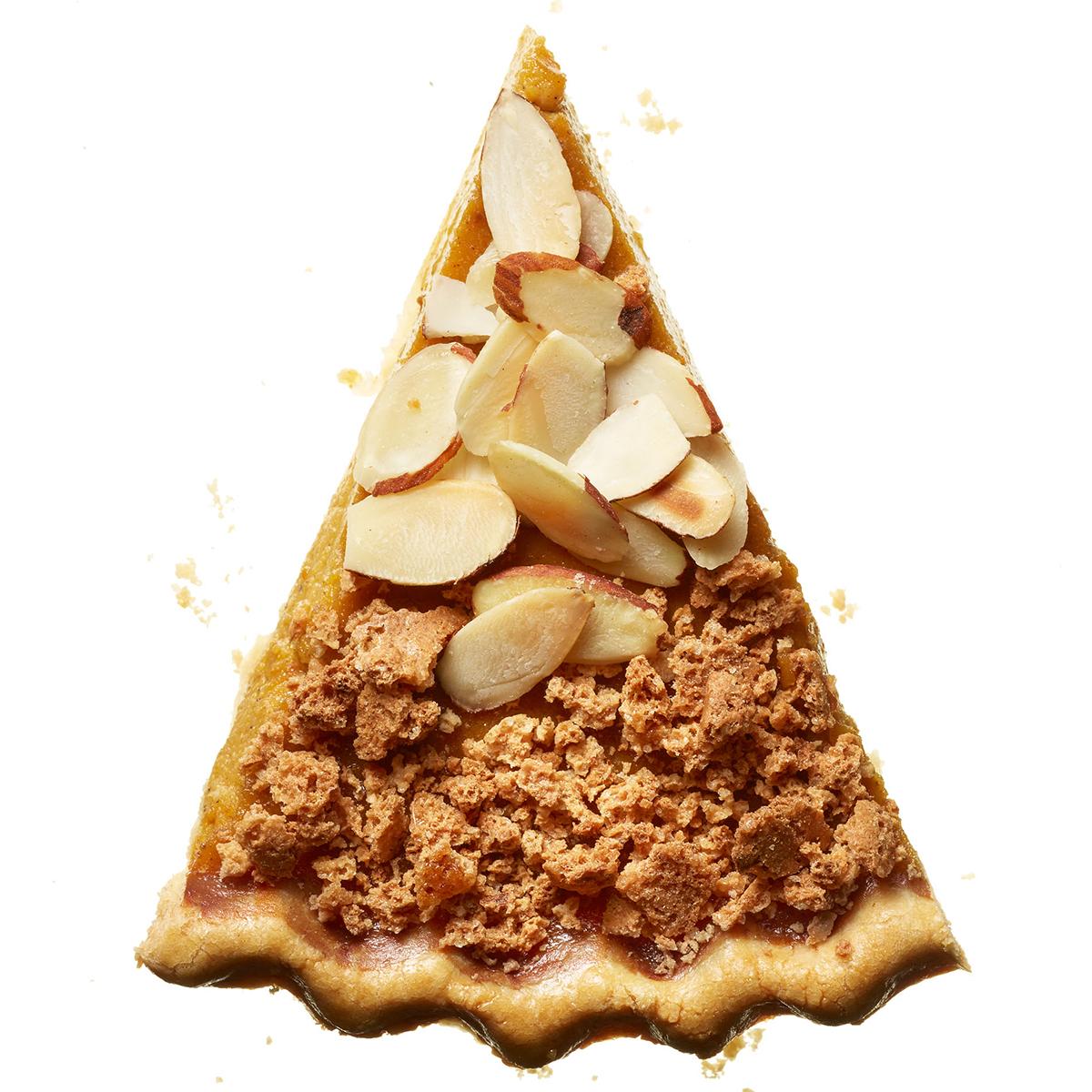 almond amaretti pumpkin pie