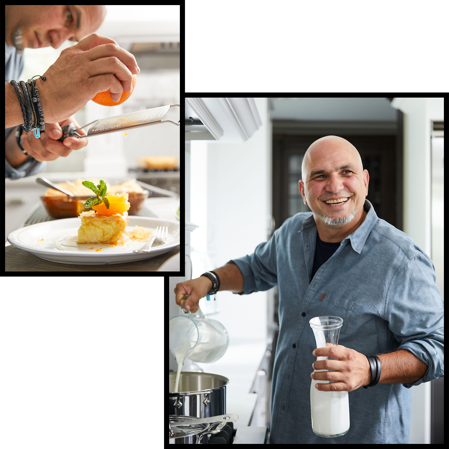 chef michael psilakis in kitchen