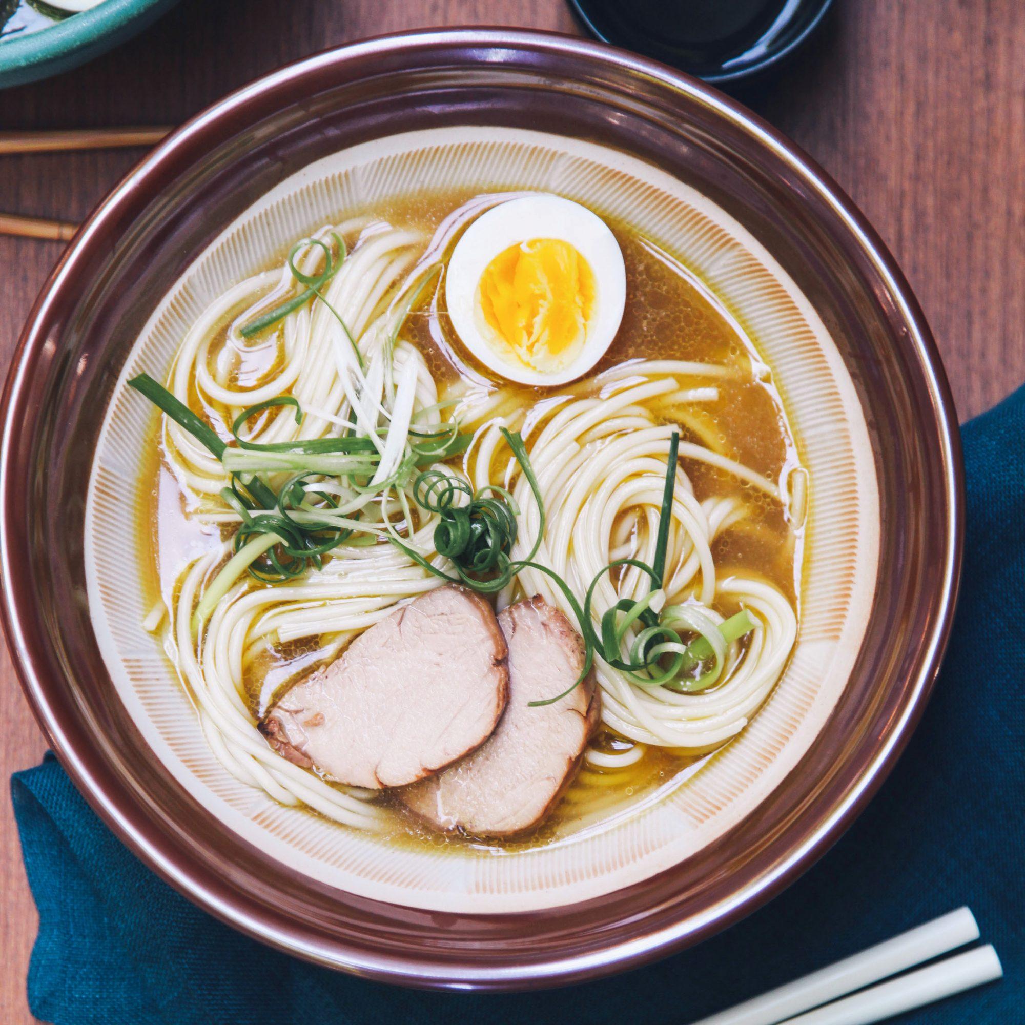 ramen bowl with egg