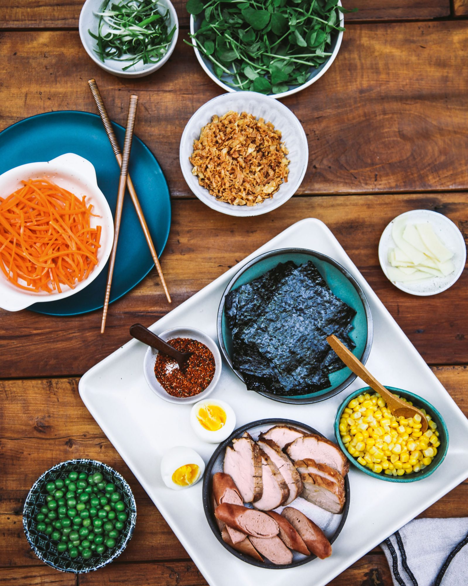 ramen toppings