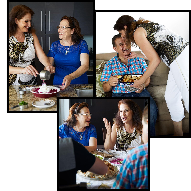 chef rana nouna and family