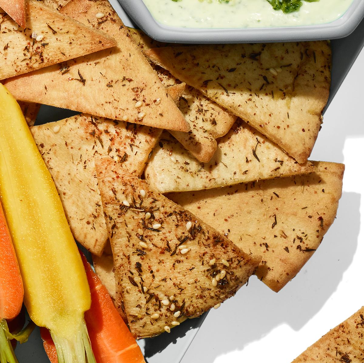 Za'atar Pita Chips