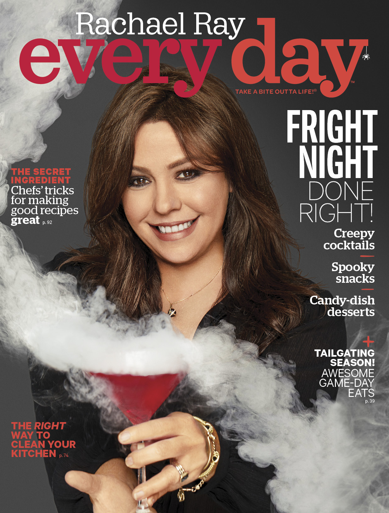 October 2017 cover Rachael Ray