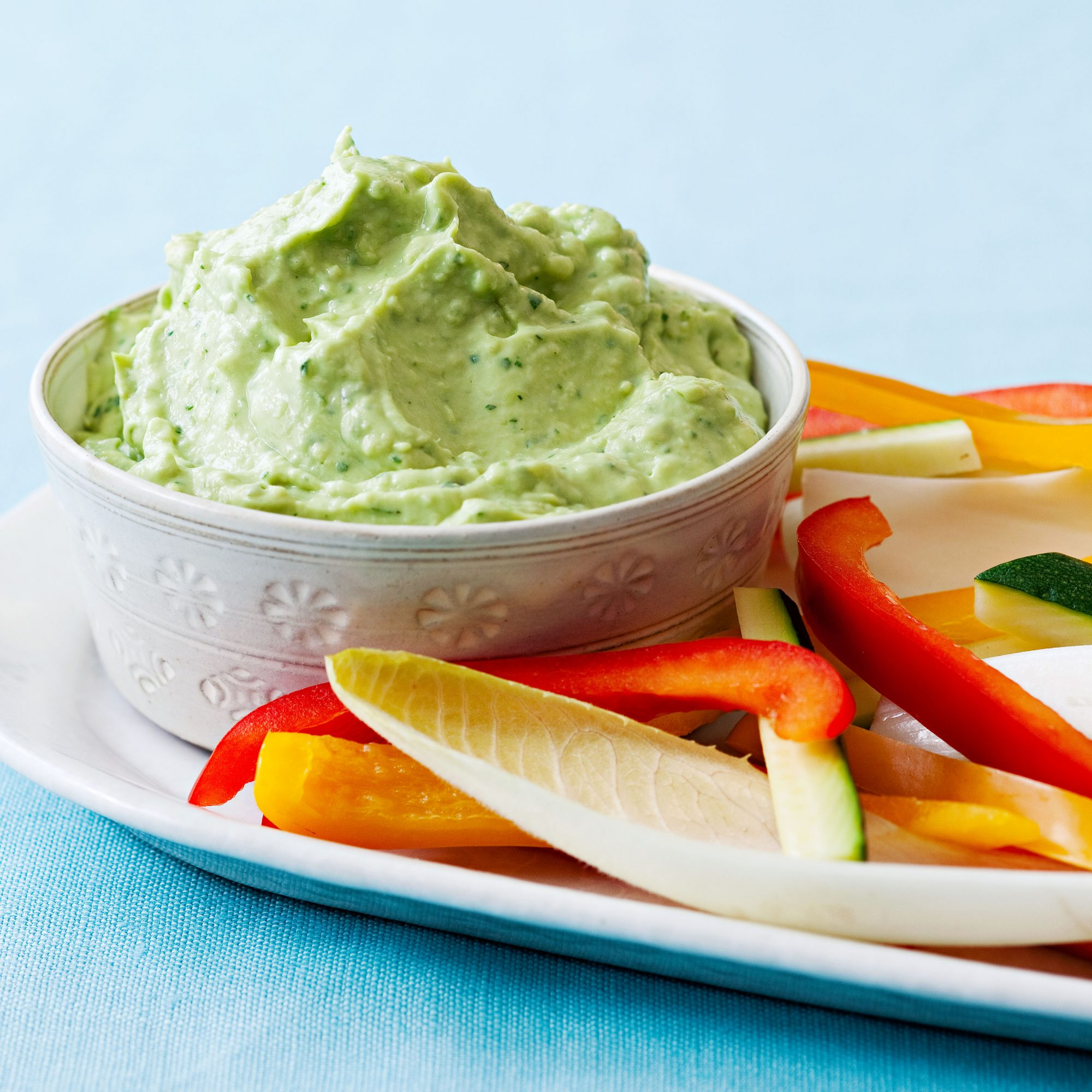 Creamy Avocado-Cilantro Dip
