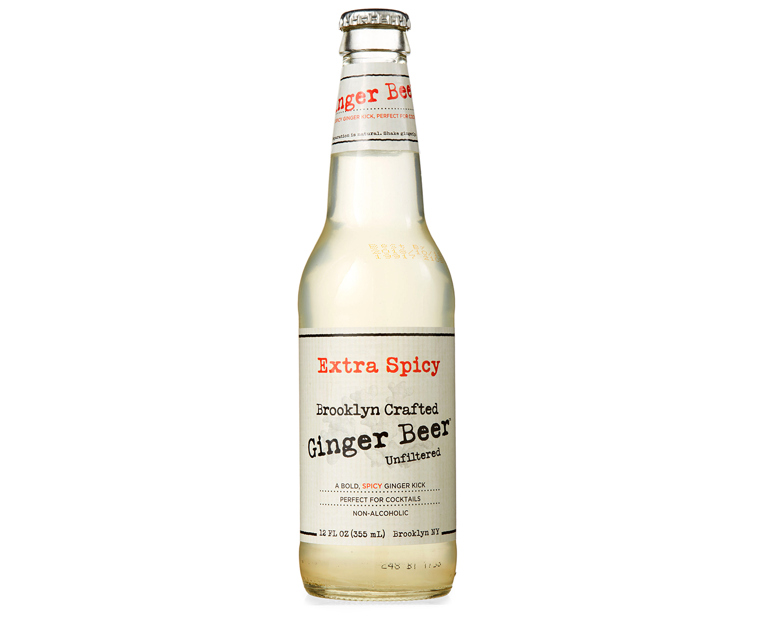 brooklyn crafted extra spicy ginger beer