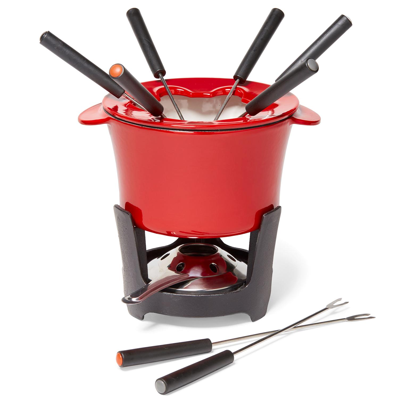 crate and barrel fondue set
