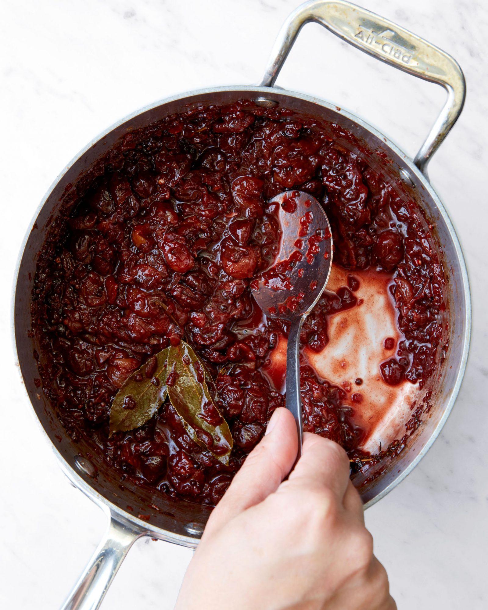 Grape & Dried Cherry Mostarda