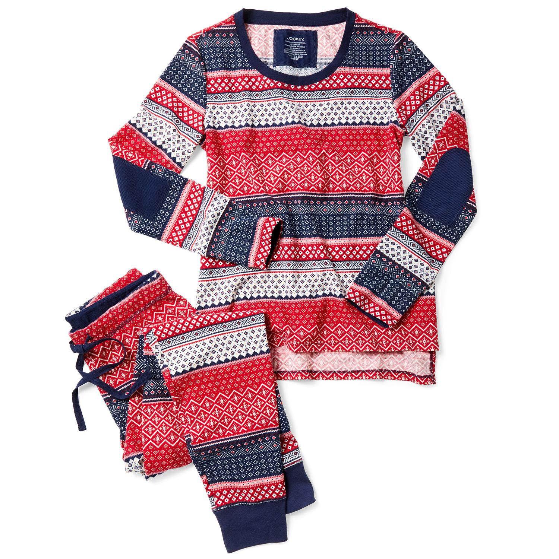jockey's modern fairisle pajamas