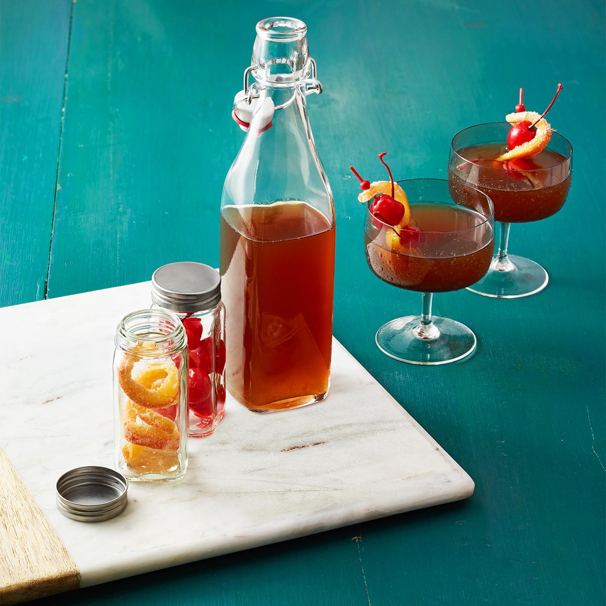 spiced fruitcake cider